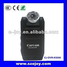 Completa 1080 P Mini HD Camcorder carro com visão noturna infravermelha K5000