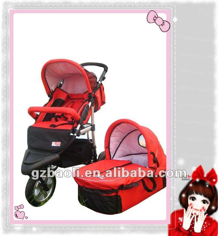 2012 motorized baby stroller 3 in 1 with en1888 ce Motorized baby stroller