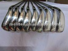 Golf Iron Clubs Individual Iron with Stiff Flex Steel Shaft(4-AW)