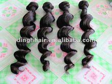 Hot !! peruvian hair weaving loose wave