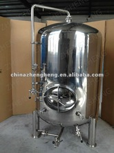 Stainless steel brew tank with spray ball,manhole,cleaning pipe