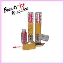 LP8177 Beauty Resource lip gloss and lip stick 2 in1