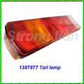 excelente stronglion accesorios de cola de automóviles de la lámpara para camiones scania partes de carrocería 1387877 1387878