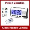 motion sensor multi-function clock camera, desk clock hidden camera