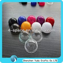 colorful acrylic dome/custom acrylic lampshade /plexiglass hollow ball