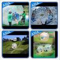 Azul inflable giga pelota/mega bola inflable