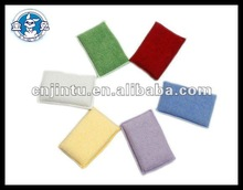 Mini beautiful car use microfiber cleaning sponge