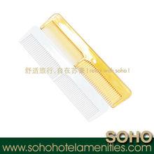 Promotional hotel plastic comb