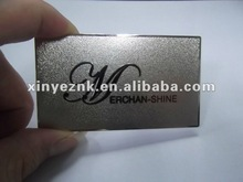 High Quality Cheap Metal Business Cards China Manufacturer