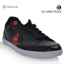Leather sneaker no name brand shoes