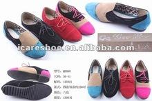 Royal blue fashion flat shoes for women 1003