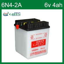 6V 4AH GREEN battery made in China (6N4-2A)