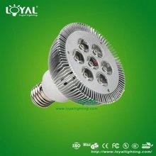 2012 High power 7w PAR30 LED spot light E27 LY-PAR30