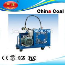 Air breathing apparatus compressor