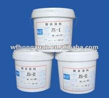Polymer Cementitious Waterproof Coating /JS composite waterproof coating