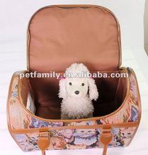 pattern dog carrier folding dog carrier big dog traveling carrier PT046-1