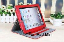 PU leather case for ipad mini,leather case for ipad 6,custom case.