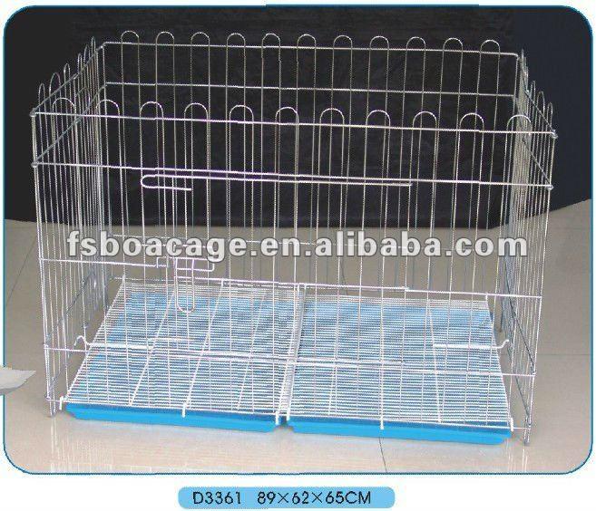 Metal Dog Kennel 89X62X65cm