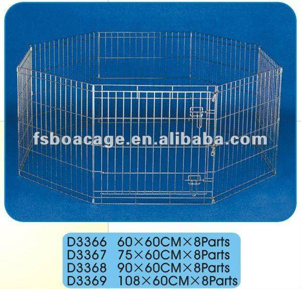 Metal Dog Kennel 108X60cmX8 Parts