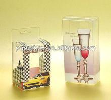 color print transparent pvc plastic box favor box