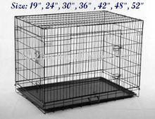 7 Sizes of 2 Doors Folding Dog Crate Dog Cage