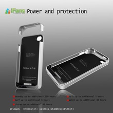 2012 hot selling electronic gadgets iFans external battery power charger for iphone 4 4s 4g