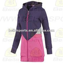 2012 LONG LENGTH custom fleece hoodie sweatshirts
