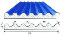 Color coated corrugated steel sheet/tile