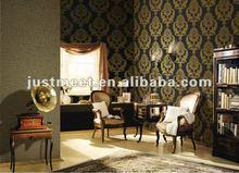 2012 new design classic non-woven paper wallpaper