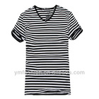 2013 summer hot sale stripes t shirt design