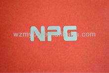 self-adhesive metal logo small metal logo name plate