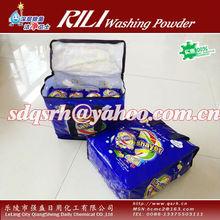 High foam Detergent Powder of 110g x 48bag/Zipper woven bag to yemen market