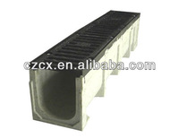 Manufacture U shape linear polymer concrete drainage ditch for drain off rainwater searching for agent in foreign market