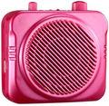 N87 ROUGE, haut-parleur d'amplificateur de voix d'amplificateur d'USB, microphone, amplificateur audio, mégaphone