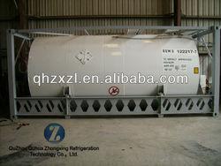 R406a ISO Tank refrigerant gas