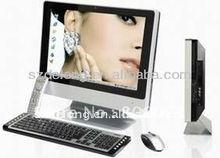 Low Price 22 Inch Desktop Computer,Aluminum Case,Wifi,Bluetooth,D525/I3/I5