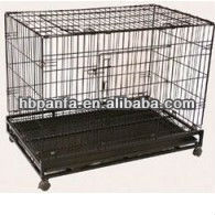 Stainless Steel Dog Kennel /galvanized steel cage/kennel for dogs/galvanized, chromeplate, Stainless steel dog cage