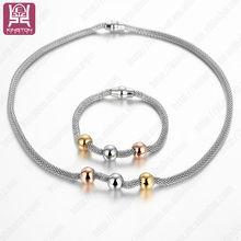 New fashion jewelry necklace and bracelet sets