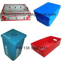 Corrugated Plastic Boxes, Coroplast Box, PP Plastic Container