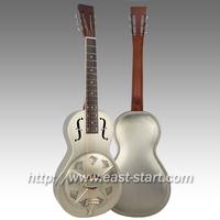 Metal Parlor Guitar Dobro Brass Resonator Guitar