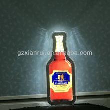 Indoor Crystal Beer advertisment