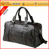 Wholesale brand high quality pu leather traveling luggage bag