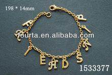 Alphabet Fashion 18k Gold Bracelet 1533377