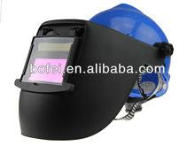Hard Hat/FLIP UP FILTER/ Solar Powered Welding Helmet with GRINDING