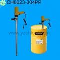 Cuatro LEAFR marca 110L / min Viton seal 304 de acero inoxidable 220 V química de la bomba de tambor / bomba química eléctrica