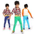 los niños vestido de diseños pantalones casuales