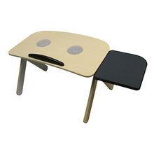 wooden children desk with usb fan