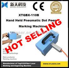 Hot Sale Lightweight pneumatic Dot peen hand engraving machine for metal materials