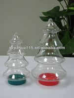 X MAS TREE Plastic container