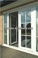 lanke de plástico pvc perfil de la ventana de color blanco y de colores
